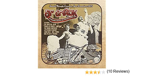 Snack Benefit Concert, San Francisco 1975 5 CD Box Set: Various ...