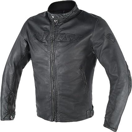 Dainese Archivio D1 Leather Jacket Black 48 Euro/38 USA