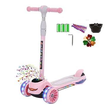 Amazon.com: Minmin - Patinete para niños de 1 a 6 años de ...