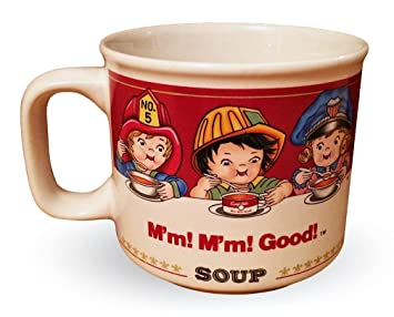 Amazon.com | Campbell\'s Soup 1993 Soup Mugs Featuring Kids in ...