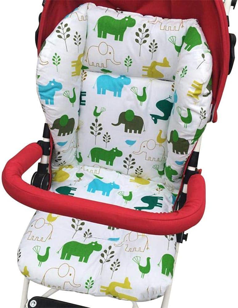 Baby Sitzauflage Buggy Sommer Weich ranninao Sitzauflage Kinderwagen Universal Bequem Atmungsaktiv