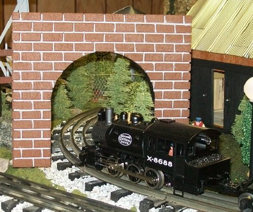 Model Railroad O Gauge THIN PROFILE Tunnel Portal - for sale  Delivered anywhere in USA