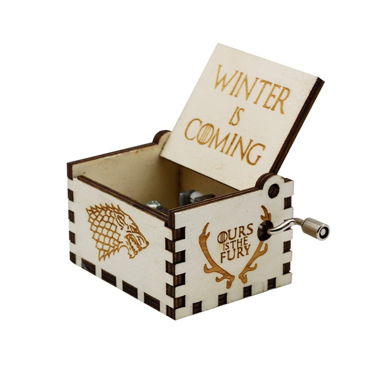 日本初の HOSALA 木製 パーソナライズ可能なオルゴール ハンドメイド 彫刻 木製 Moana comming IS88-02 Moana B07L9YNW1T ウッド Winter is comming - white Winter is comming - white|ウッド, ピットスポーツ:f8e7c2b7 --- arcego.dominiotemporario.com
