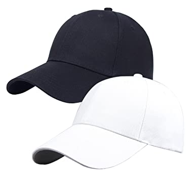 pack plain baseball cap blank hat black white buy and where to a