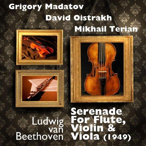 (Ludwig van Beethoven - Serenade For Flute, Violin & Viola (1949))