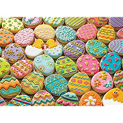 Cobblehill 54600 Multi 350 Easter Cookies Puzzle, Various: Toys & Games
