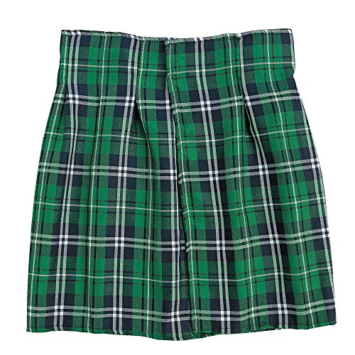 Green Plaid Costume Kilt - Irish Kilt