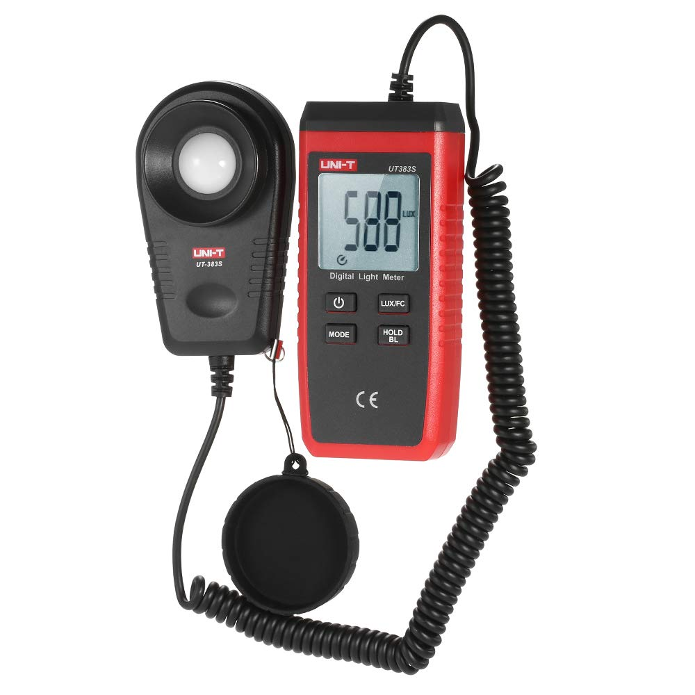 UT383S Handheld Mini Luxmeter Light Meter LCD Luminometer Digital Photometer Pocket Light by Expressus