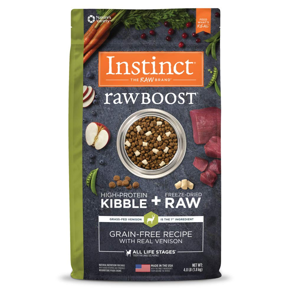 7.Instinct Raw Boost Grain-Free Recipe