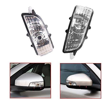 Amazon Com 2pcs Front Wing Mirror Indicator Lens Light Lamp