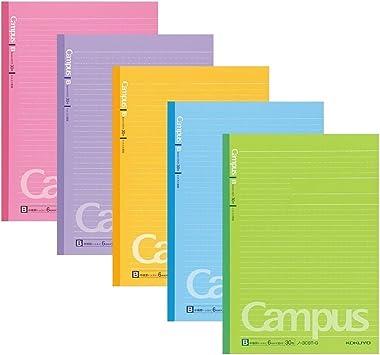 17 x 24,8 cm, 6/mm, 35/l/íneas x 30/hojas Kokuyo Campus Todai / /Semi B5/ /Set de 5 colores Cuaderno de puntos /