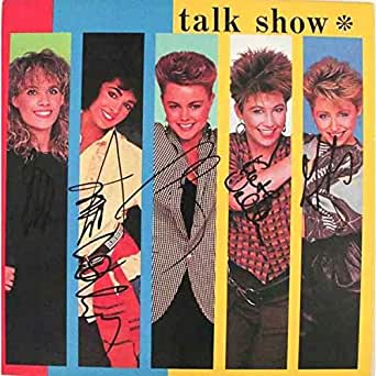 The Go-Gos Talk Show Signed Record Album LP Certified Authentic PSA/DNA COA