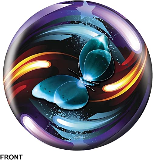 Butterfly Swirl Exclusive Bowling Ball by Bowlerstore