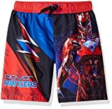 Power Rangers Boys Swim Trunks Swimwear (5-6, Rangers Red)