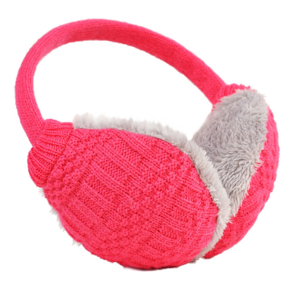 Leier Unisex Knit EarMuffs Faux Furry Earwarmer Winter Outdoor EarMuffs Leier&co