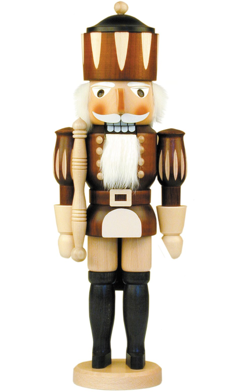 32-350 - Christian Ulbricht Mini Nutcracker - King - 15.5''''H x 5.5''''W x 4.5''''D by Alexander Taron Importer