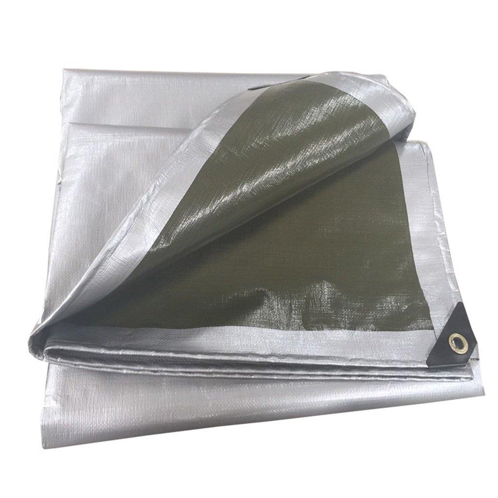 Tarpaulin Outdoor Sun Protection Sunscreen Tarpaulin Polyethylene Woven Tarpaulin (Size : 2x2m)