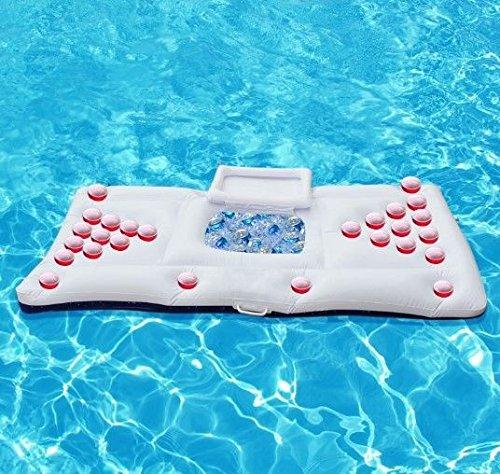 Beer Pong piscina hinchable 170cm de flotación MAPLE: Amazon.es ...