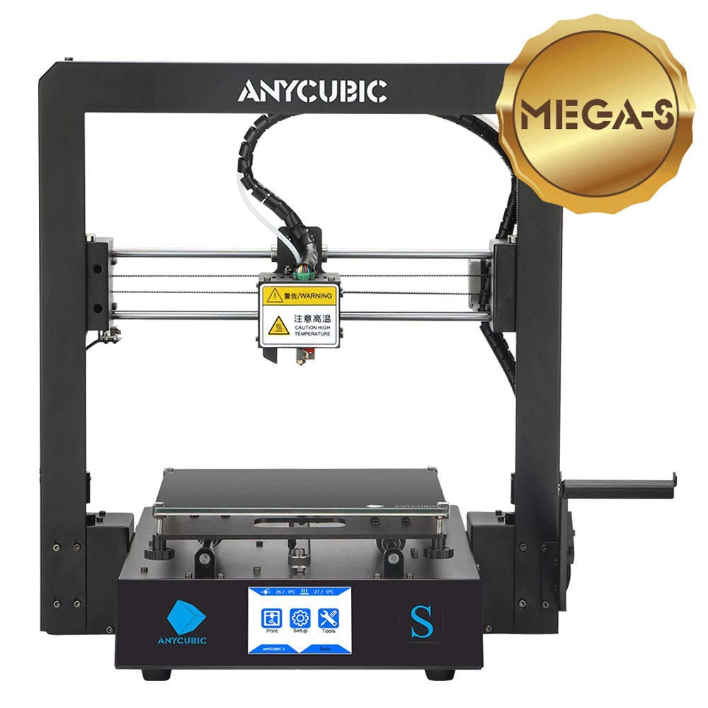 Anycubic Mega-S - Impresora 3D con extrusor de titanio, marco de ...