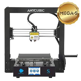 Anycubic S Pro - Impresora 3D (marco de metal y base de ...