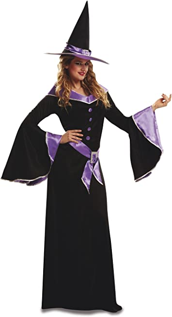 My Other Me - Disfraz de bruja para adultos, talla M-L, color ...