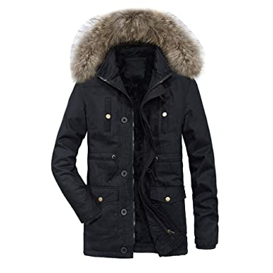 Zackate Mens Hoodie Fluffy Overcoate Fleece Zipper Sweater Jacket Outwear Coat