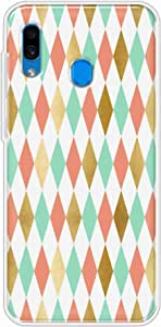 okteq Clear TPU Protection and Hybrid Rigid Clear Back Cover Compatible with Samsung Galaxy A30 and A20 - gold green pink 1 By okteq