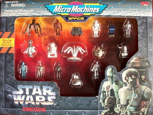 Galoob Micro Machines Star Wars Droids Giftset by Galoob