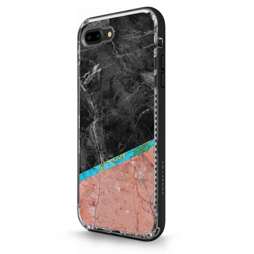 Made in The USA Remove and Unique Vinyl wrap Cover Durable Protective MightySkins Skin Compatible with LifeProof N/ËXT iPhone 8 Plus//iPhone 7 Plus Cut Marble Easy to Apply