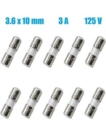 SMIN F4AL Fusible de vidrio 250 V, 6 x 30 mm, 4 A