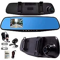 Espelho Retrovisor Com Câmera Frontal Full Hd Câmera Ré