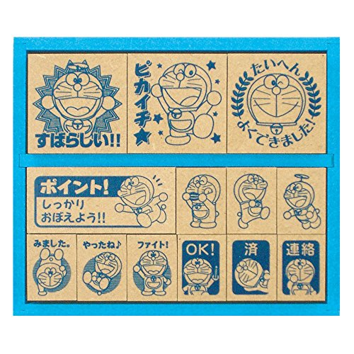 Doraemon stamp SDH-034 (japan import)