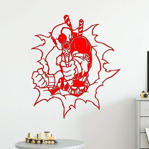 yaoxingfu Artístico Deadpool Adhesivos de Pared ...