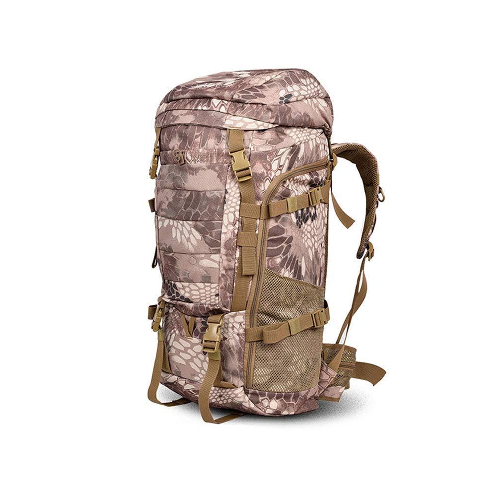 登山用バッグ、男性と女性の旅行用バッグ、キャンプ用の大きなバックパック、旅行用バッグ、大容量の80L用キャンプ:アウトドアスポーツ、キャンプ、ハイキング、登山、ハイキングなど (設計 : D) B07P38PBZ2  D