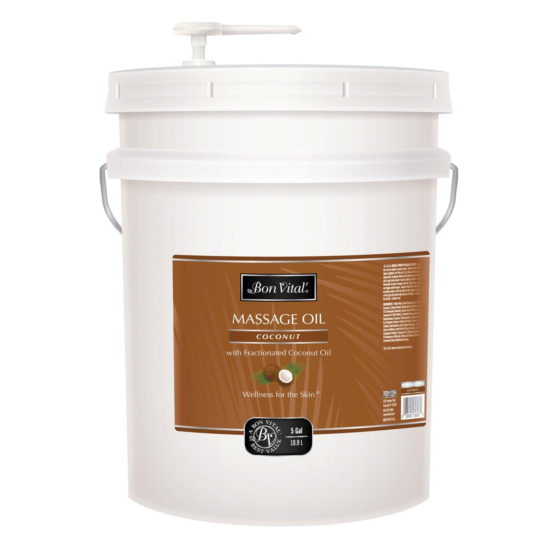 Bon Vital BVCO5G Coconut Oil, 5 Gallon by Bon Vital
