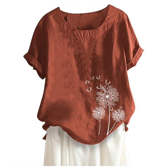 Amazon.com: Tomppy - Camiseta de manga corta para mujer, de ...