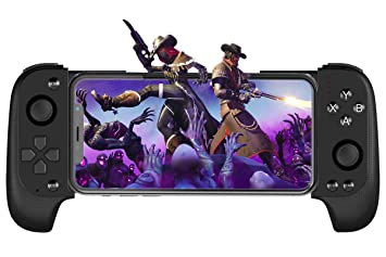 Mobile Game Controller Megadream Telescopic Wireless Gamepad Key Mapping  Shooting Aim Gaming Controller with Flexible Joystick for Android iOS,