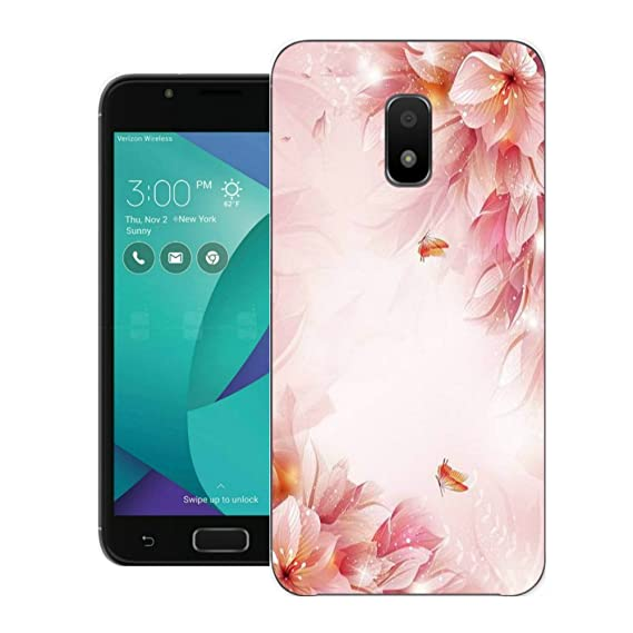 release date 707ad ac7fb Asus ZenFone V Live Case,Jilika TPU Soft Painted Patterns Full Protection  of The Phone Cover Case For Asus ZenFone V Live V500KL (Flowers and ...