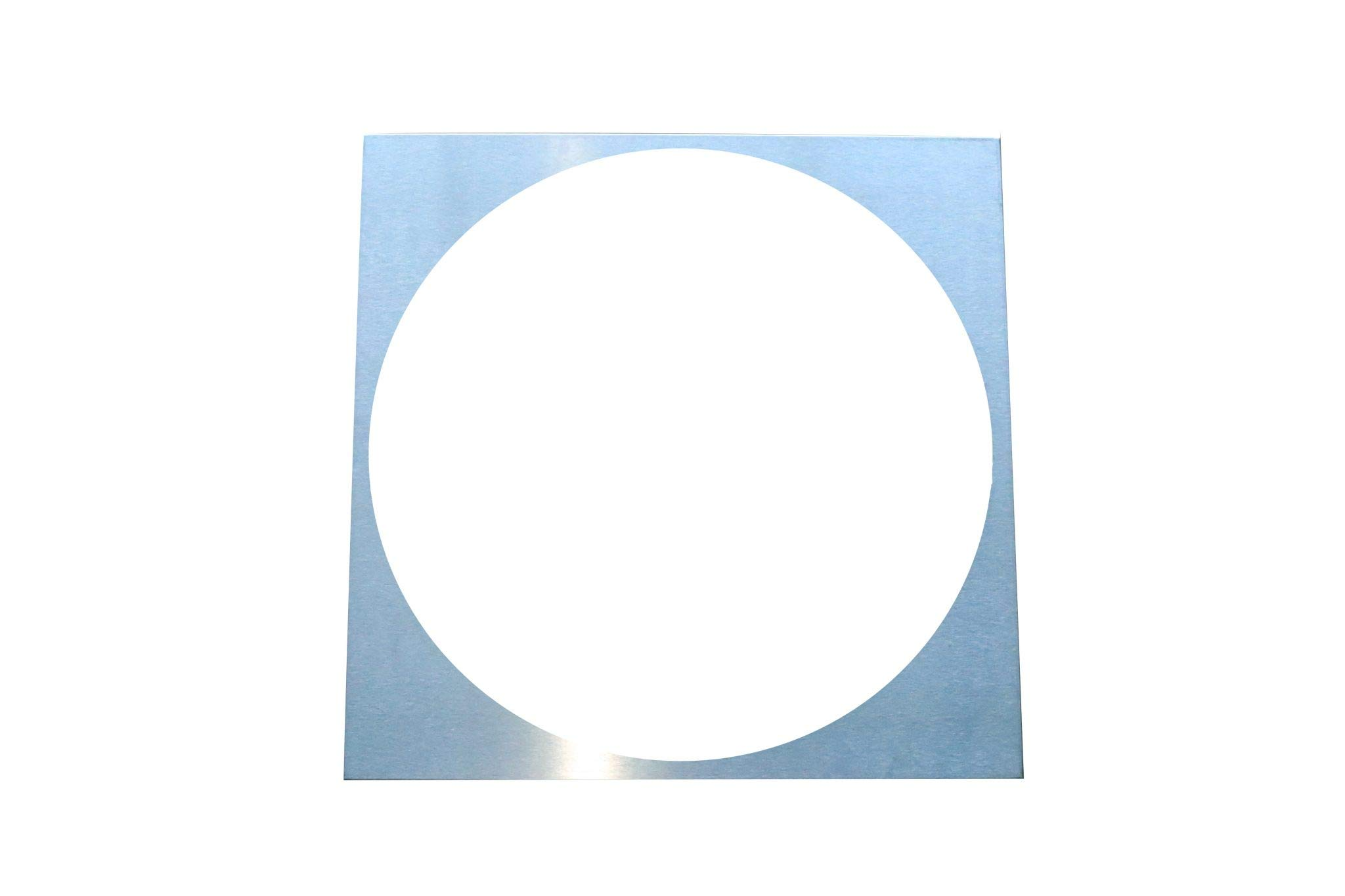 Beach City Wholesalers 28''x 28'' Base Spacer w/Floss Pan Cutout (Used on #3118 Floss Cart)