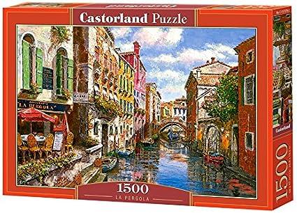 Castorland La Pergola 1500 pcs Puzzle - Rompecabezas (Puzzle Rompecabezas, Ciudad, Niños y Adultos, Niño/niña, 9 año(s), Interior): Amazon.es: Juguetes y juegos