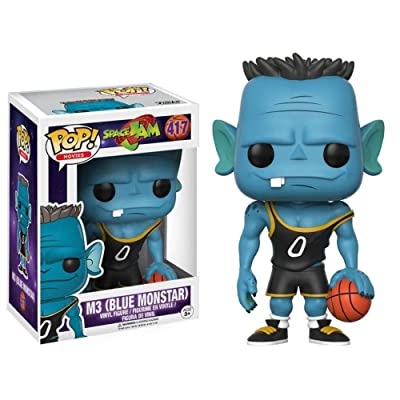 Funko POP Movies Space Jam M3 (Blue Monstar) Action Figure: Funko Pop! Movies:: Toys & Games [5Bkhe1100677]