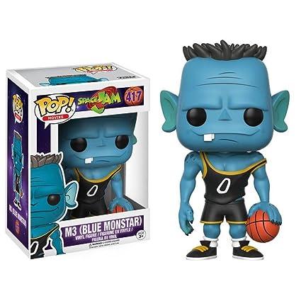 b521ccf3c72 Amazon.com  Funko POP Movies Space Jam M3 (Blue Monstar) Action Figure  Funko  Pop! Movies   Toys   Games
