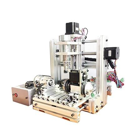 Kit de máquina de fresar para grabado de madera, 300 W, 4 ejes,