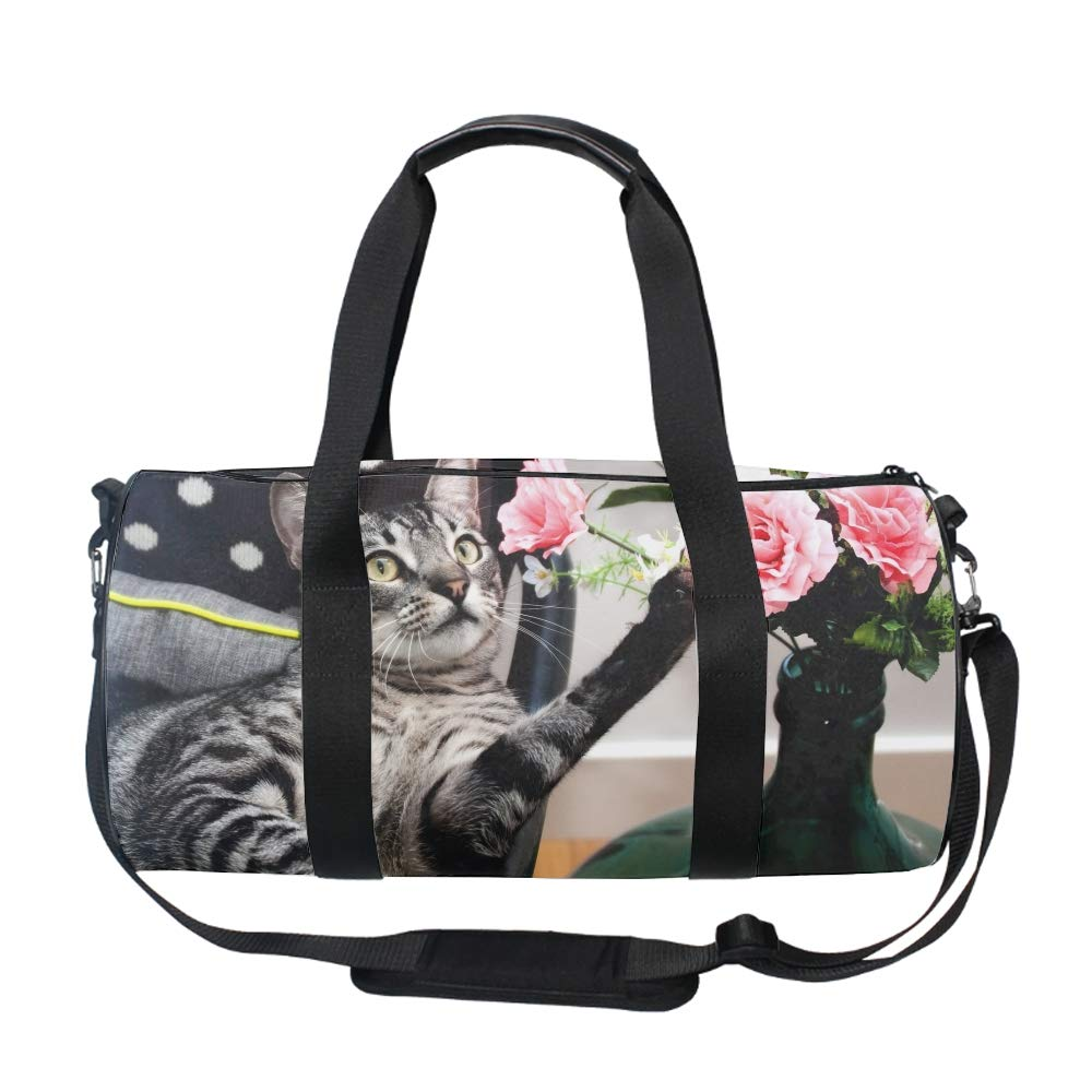 Travel Overnight Bag Geomrtric Hexagons Duffle Bag Oversized Luggage Bag Large Handbag for Men Women