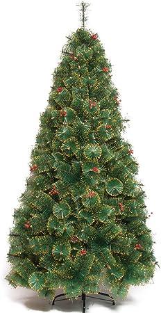 Albero Di Natale 5 Metri.Kmgjc Albero Di Natale Albero Di Pino Verde Artificiale Con Staffa Metallica 1 5 Metri 5 Piedi Colore Green Dimensioni 5 Feet Amazon It Abbigliamento