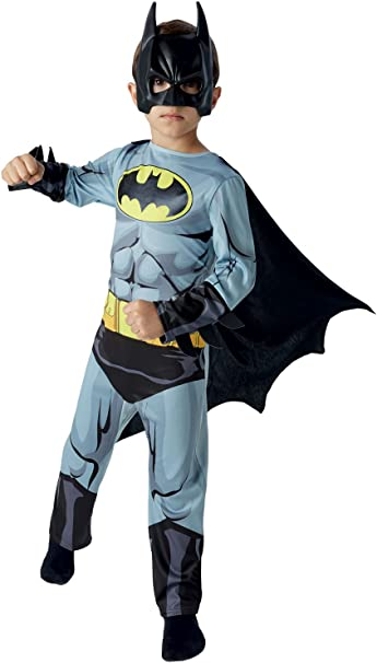 Disfraz Child Classic Comic Book Batman Costume: Amazon.es ...