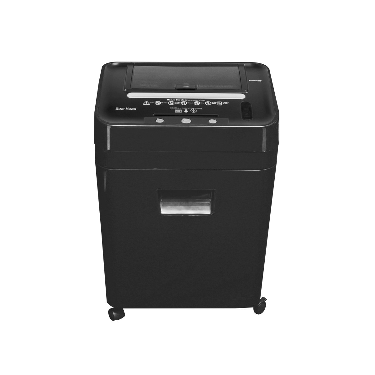 Price available in white or black for about 2399 for all four - Amazon Com Gear Head Ps8500mxb 75 Sheet Auto Feed Micro Cut Shredder With Cd Dvd Black Electronics