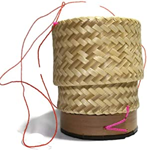 Wonder Run Basket Sticky rice to Craft handmade from bamboo in Thailand for kitchenware or cookware steamer pot food