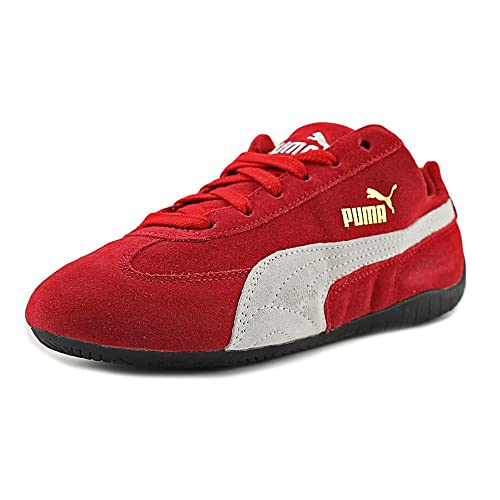 ... spain puma mens speed cat shoes ribbon red white size 4 b74f6 36614 9111c60f9