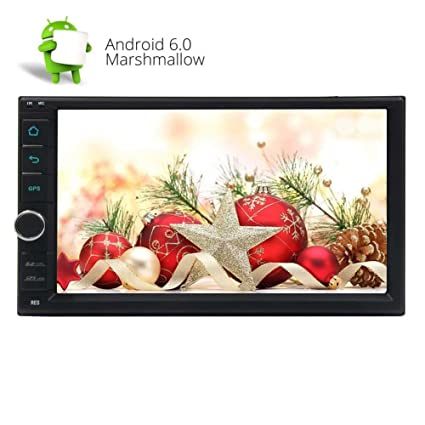 Eincar 7 inch Car Stereo Marshmallow Android 6.0 Double Din in Dash Quad-Core CPU